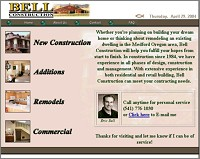 Eric Bell Construction Medford Oregon