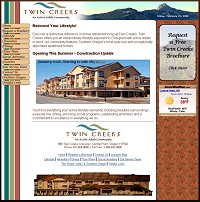Twin Creeks active adult retirement community in Central Point.