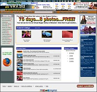 Virtual Rogue Valley VRV.biz provides free classified advertising in addition to links to real-time weather and roads information for the Rogue Valley.
